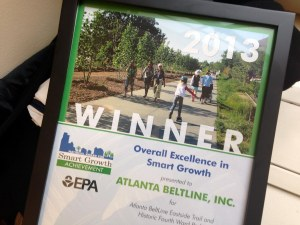 Atlanta Beltline wins EPA award